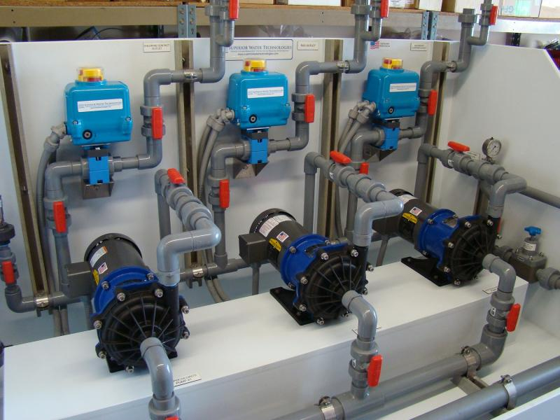 Pump Skid Custom Build for City of Richland, Washington's  Water Treatment Plant